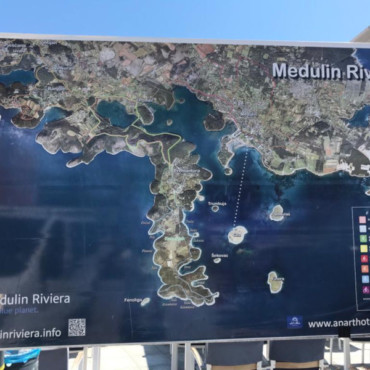 Medulin Riviera map