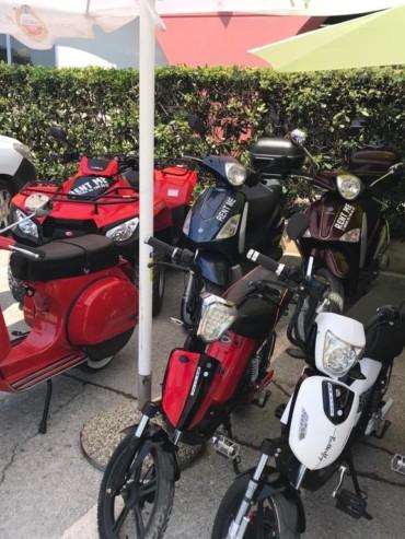 Moped rental in Premantura