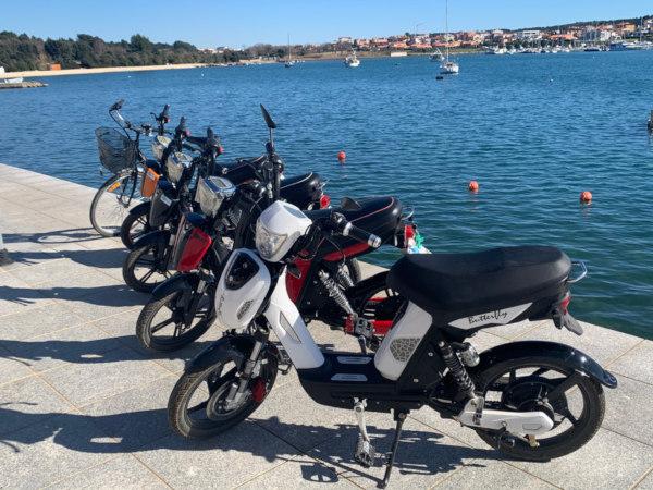 Electric Motorbike Rental in Premantura
