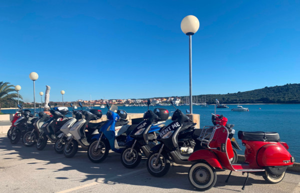 Rent a Scooter in Medulin