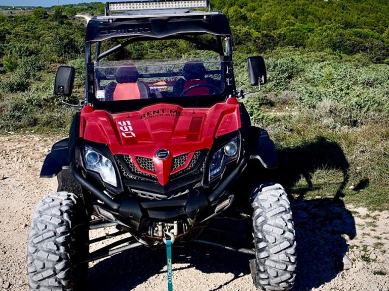 Rent a buggy Kamenjak in Istria